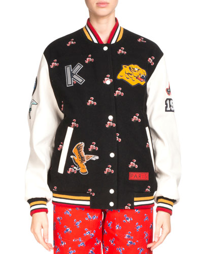 La Collection Memento N°1 Varsity Patchwork Jacket
