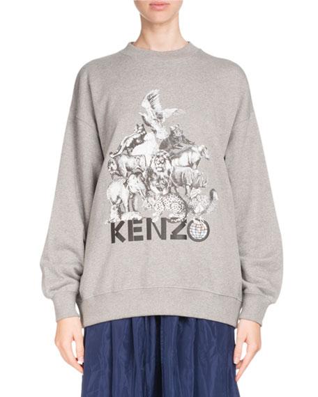 La Collection Memento N°1 Logo Crewneck Sweatshirt