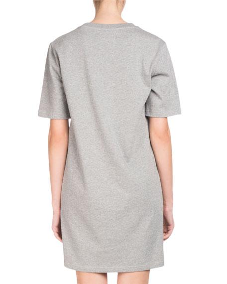La Collection Memento N°1 Short-Sleeve Crane Logo T-Shirt Dress