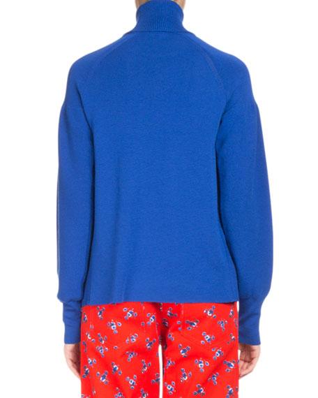 La Collection Memento N°1 Knit Empire Turtleneck Sweater