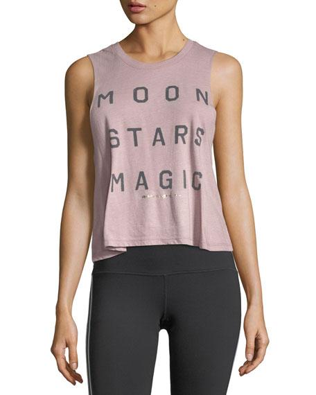 Moon Stars Magic Crop Tank