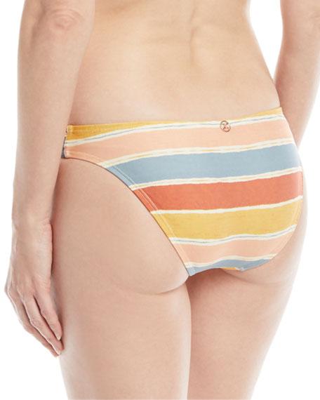 Guadalupe Seamless Striped Swim Bikini Bottoms