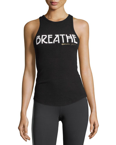 Breathe Ribbed Racerback Tank