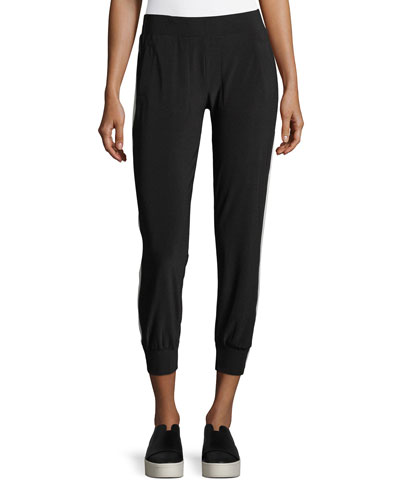 Side-Stripe Jogger Pants