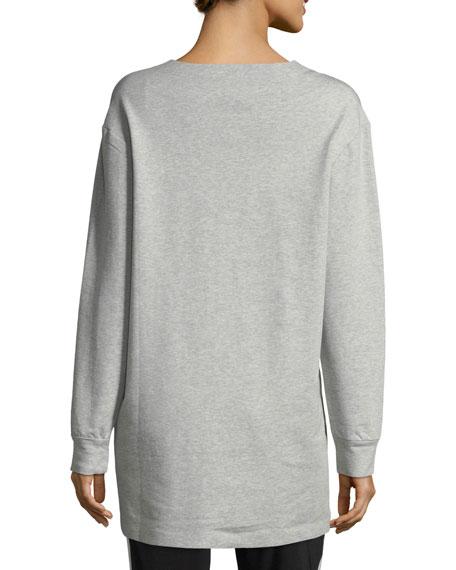 Boyfriend Sweatshirt Combo Top