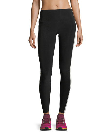 Side-Stripe Sport Leggings