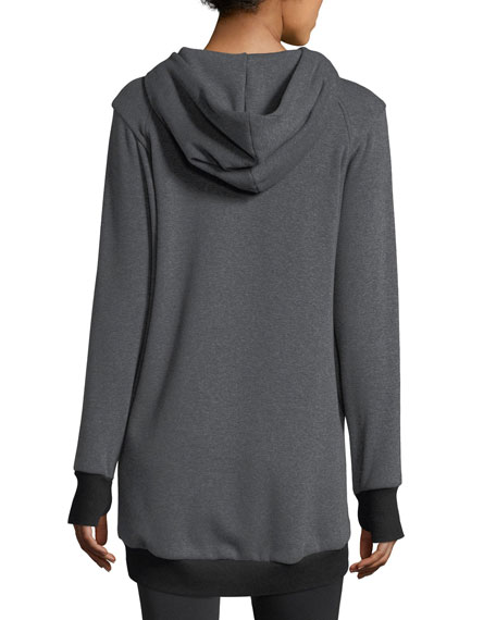 Suspension Oversized Hooded Sweatshirt