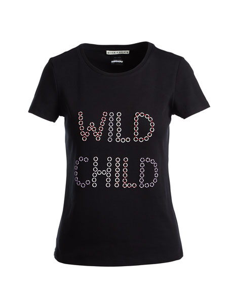 Rylyn Wild Child Short-Sleeve Graphic Tee