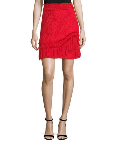 Vinna A-Line Lace Skirt