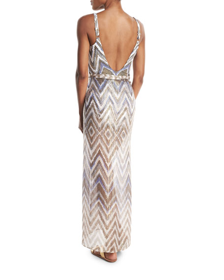 Golden Sand Pareo Coverup, One Size
