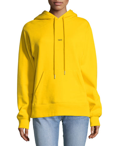 Taxi Cotton Hoodie Sweatshirt
