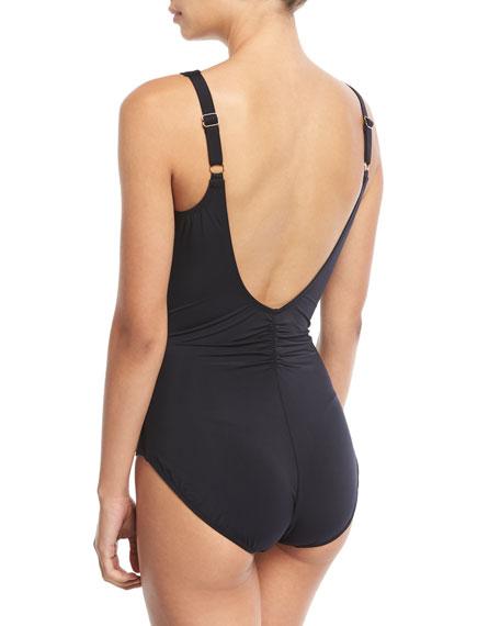 Grace Surplice One-Piece Swimsuit