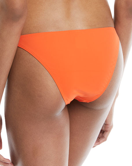 Solid Hipster Swim Bottoms