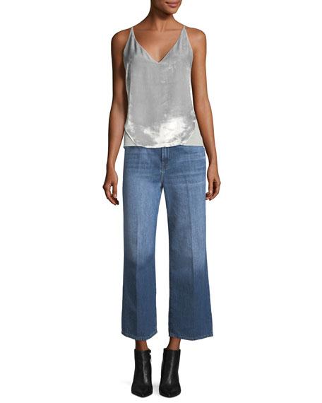 Joan High-Rise Wide-Leg Crop Jeans