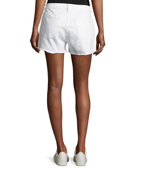 Le Grand Garcon Cut-Off Denim Shorts