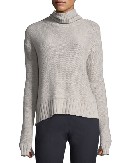 Turtleneck Luxe Wool Pullover Sweater