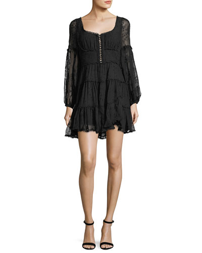 Lovelorn Lace Corset Minidress