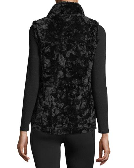 Mossbud Swirl Reversible Performance Vest, Black