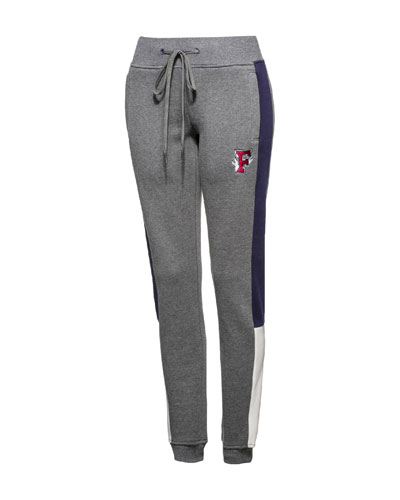 Fitted Panel Sweatpants