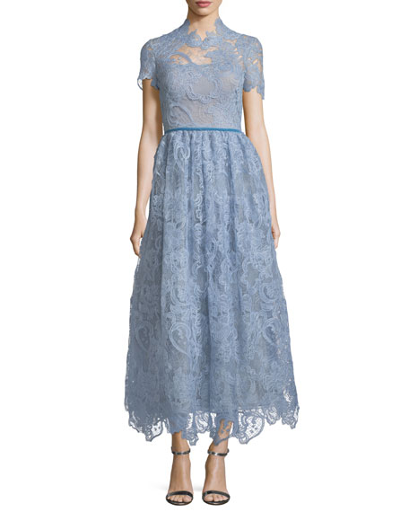Tea Length Lace Dresses