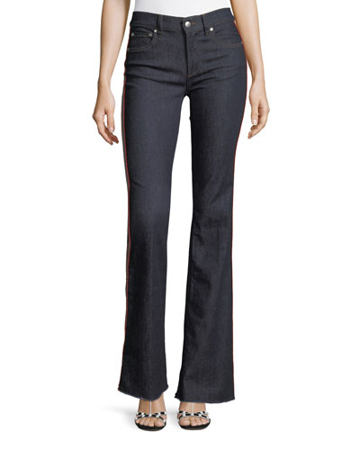 Rinse-Washed Stretch-Denim Jeans