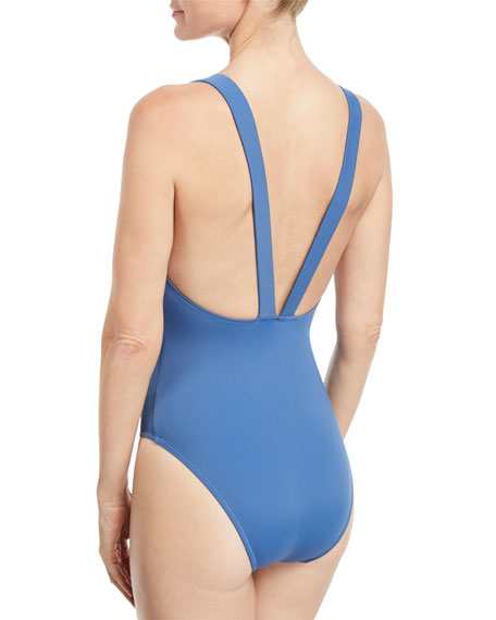 The Lucy Solid One-Piece Swimsuit