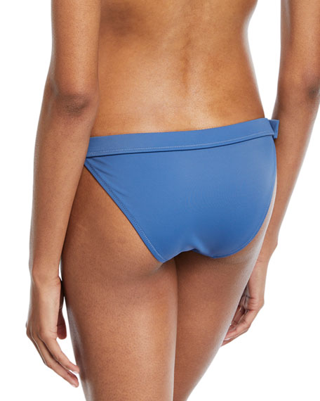The Evelyn Side-Buckle Swim Bikini Bottom