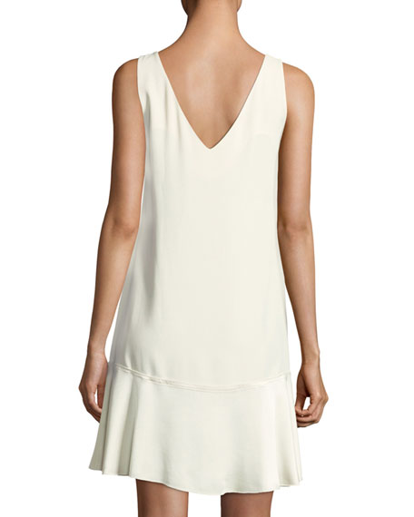 Flirty Flare A-line Kensington Crepe Dress
