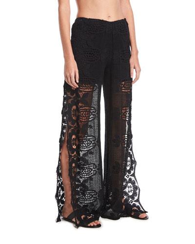 Amelie Lace Coverup Pants
