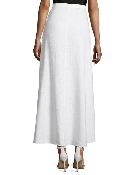 Ballerina Cotton Wrap Long Coverup Skirt