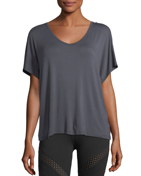 Easy Does It Jersey Athletic Tee
