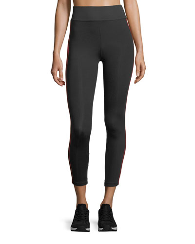 Tone High-Waist Ankle-Length Performance Tights