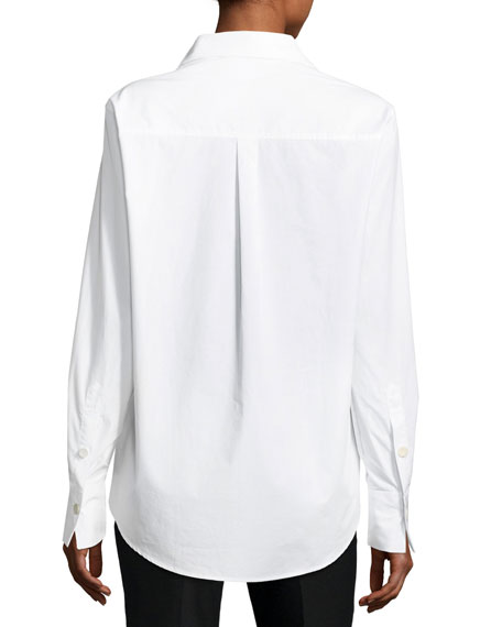 Garcon Button-Front Poplin Shirt