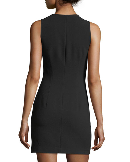 Cullin Crewneck Fitted Dress