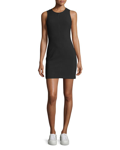 Cullin Crewneck Fitted Dress
