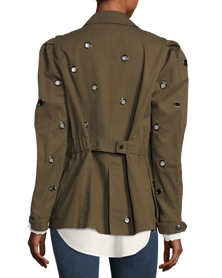 Lewis Safari Grommet Jacket