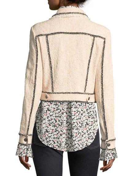 Vita Cropped Tweed Jacket