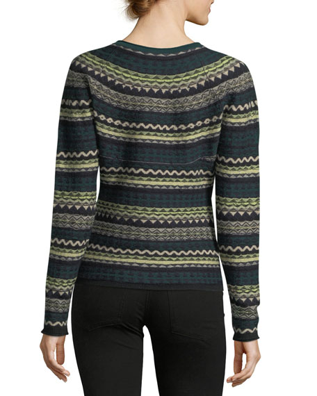 Fair Isle Crewneck Sweater