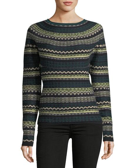 Burberry Fair Isle Crewneck Sweater