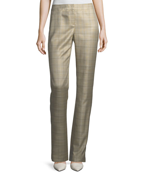 Debonair Plaid Barrow Pants