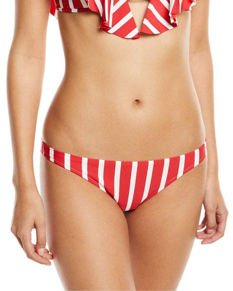 St. Lucia Striped Bikini Swim Bottom