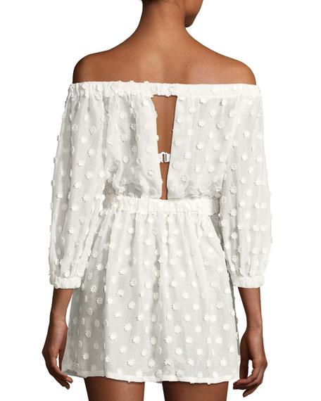 Jenny Off-the-Shoulder Cover Dress