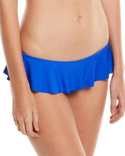 Vita Italian Ruffle Bikini Swim Bottom