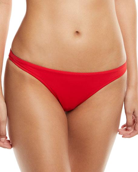 St. Lucia Solid Bikini Swim Bottoms