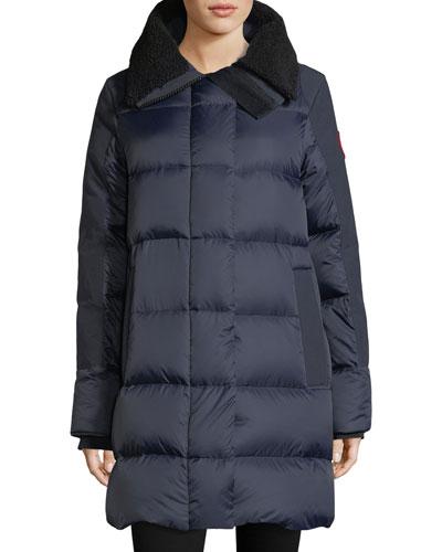 Altona Quilted Puffer Coat