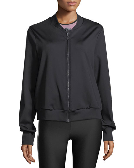 Bolt Zip-Front Bomber Jacket