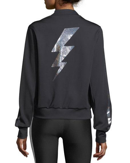 Bolt Zip-Front Bomber Jacket