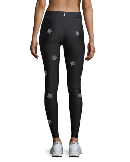 Ultra-Fit Knockout Star Embellished Leggings