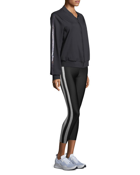 Ultra-Matte Collegiate Ankle Leggings