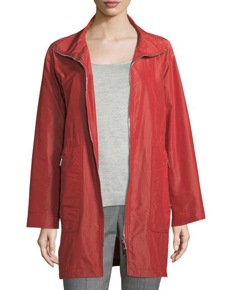 Kya Empirical Tech-Cloth Zip-Front Jacket